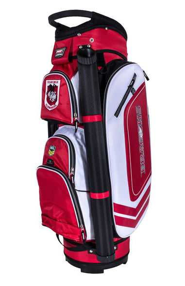 NRL ST GEORGE ILLAWARRA DRAGONS GOLF BAG