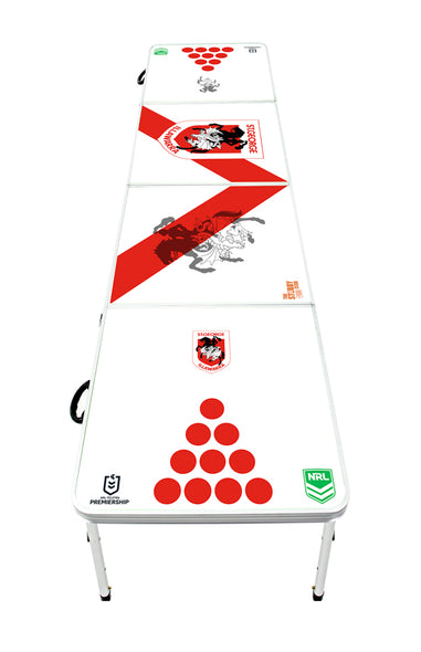 NRL St George Illawarra Dragons Beer Pong Table
