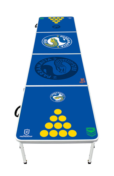 NRL Paramatta Eels Beer Pong Table - PRE ORDERS