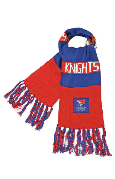 NRL NEWCASTLE KNIGHTS BAR SCARF