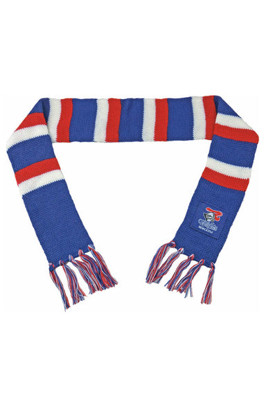 NRL NEWCASTLE KNIGHTS BABY SCARF