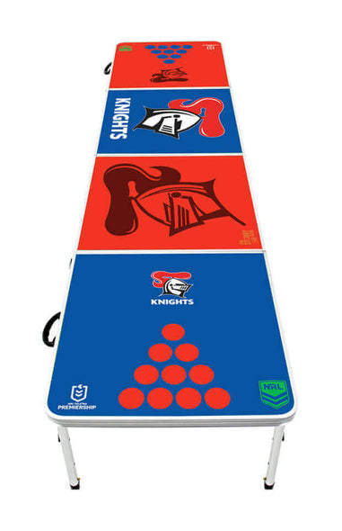 NRL Newcastle Knights Beer Pong Table