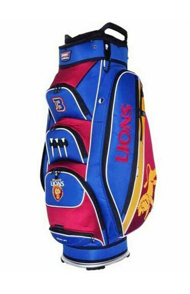 AFL BRISBANE LIONS GOLF BAG