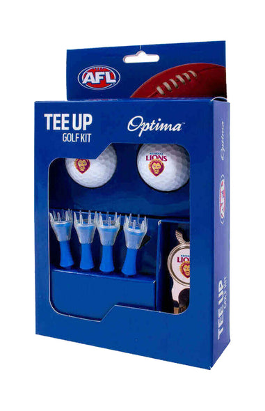 BRISBANE LIONS AFL TEE UP GIFT PACK