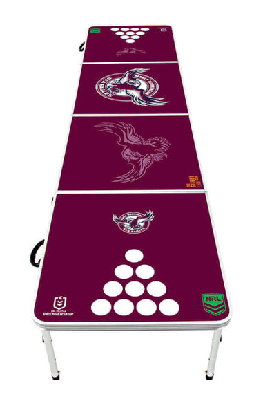 NRL Manly Sea Eagles Beer Pong Table - PRE ORDERS