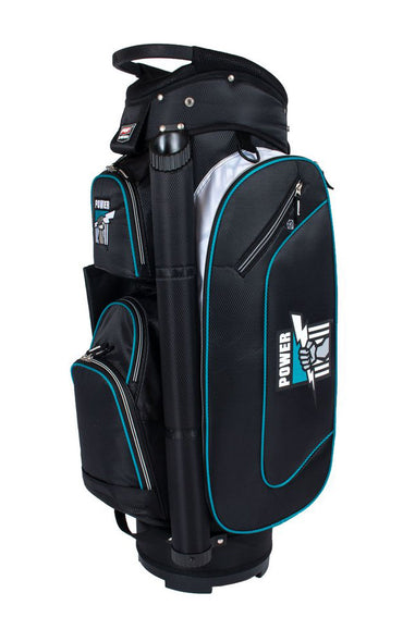 AFL PORT ADELAIDE POWER GOLF BAG