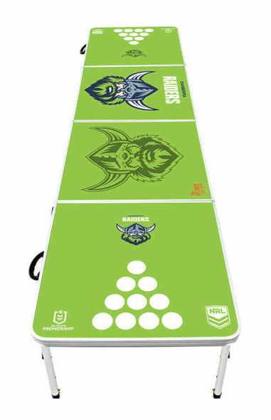 NRL Canberra Raiders Beer Pong Table - PRE ORDERS