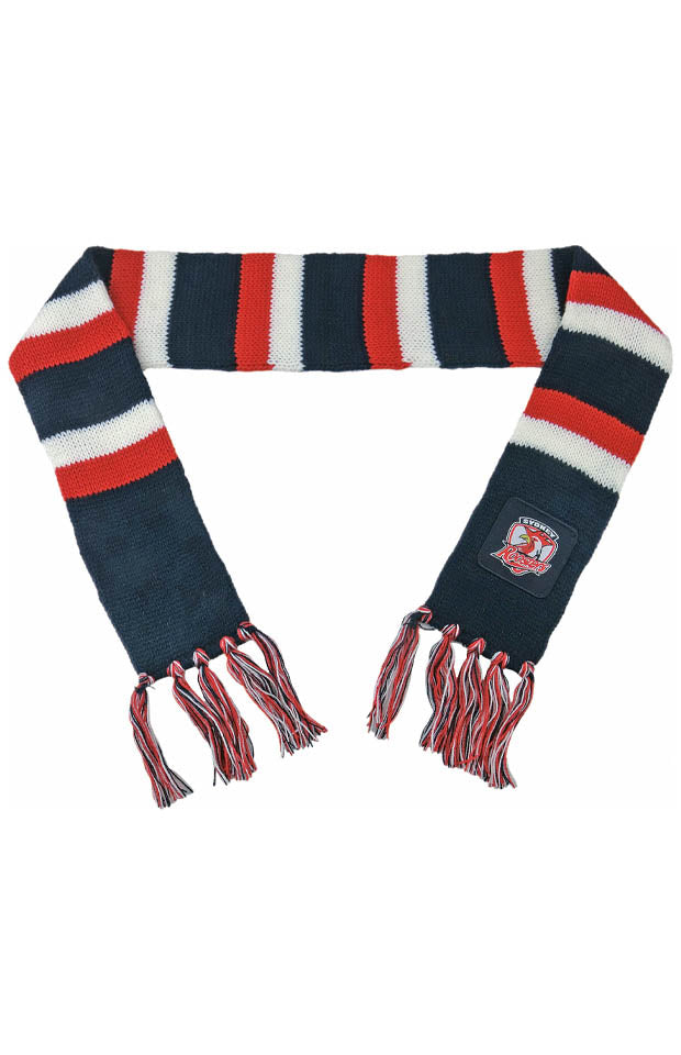 NRL SYDNEY ROOSTERS BABY SCARF