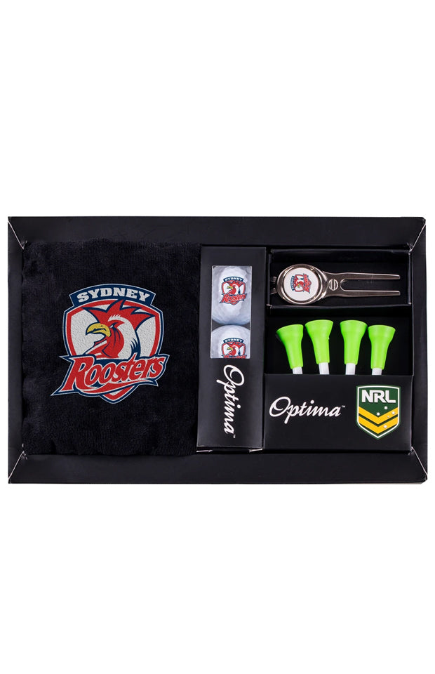 NRL SYDNEY ROOSTERS GOLF GIFT PACK