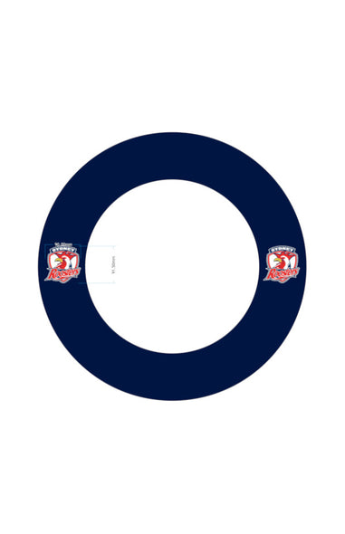 SYDNEY ROOSTERS NRL DARTBOARD SURROUND