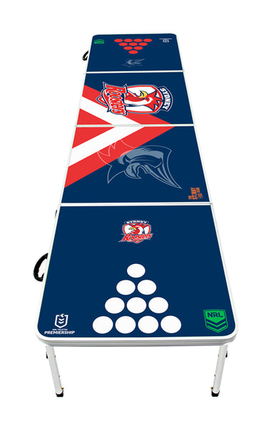 NRL Sydney Roosters Beer Pong Table - PRE ORDERS