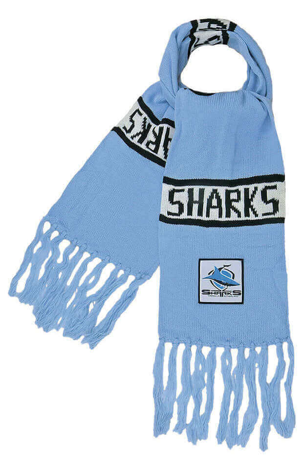 NRL CRONULLA SHARKS BAR SCARF