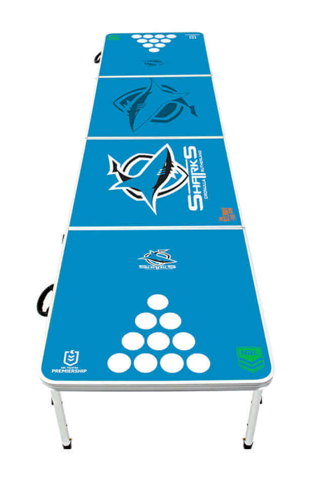 NRL Cronulla Sharks Beer Pong Table