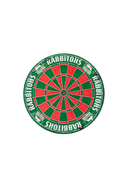 NRL South Sydney Rabbitohs Dartboard + Cabinet