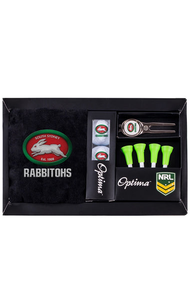 NRL SOUTH SYDNEY RABBITOHS GOLF GIFT PACK