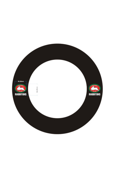 SOUTH SYDNEY RABBITOHS NRL DARTBOARD SURROUND