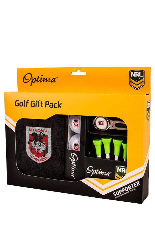 NRL SAINT GEORGE DRAGONS GOLF GIFT PACK