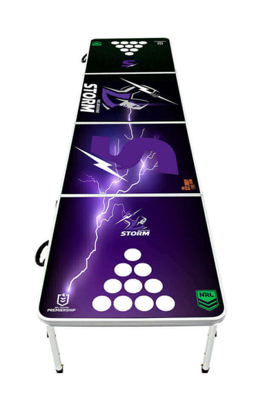NRL Melbourne Storm Beer Pong Table - PRE ORDERS