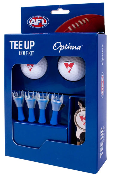 SYDNEY SWANS AFL TEE UP GIFT PACK