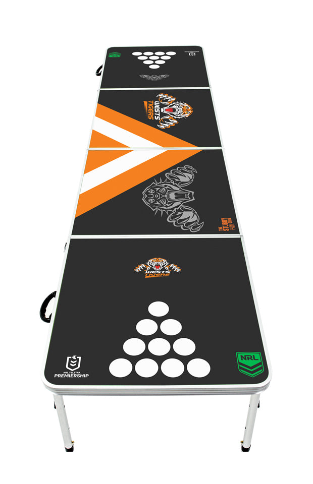 NRL Wests Tigers Beer Pong Table