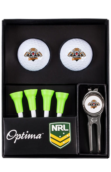NRL WEST TIGERS GOLF TEE UP GIFT PACK