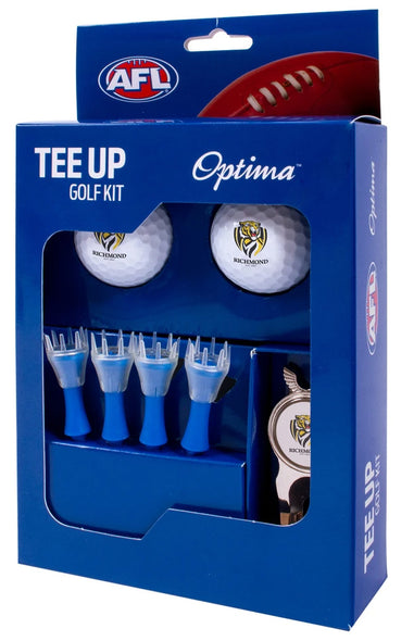 RICHMOND TIGERS AFL TEE UP GIFT PACK