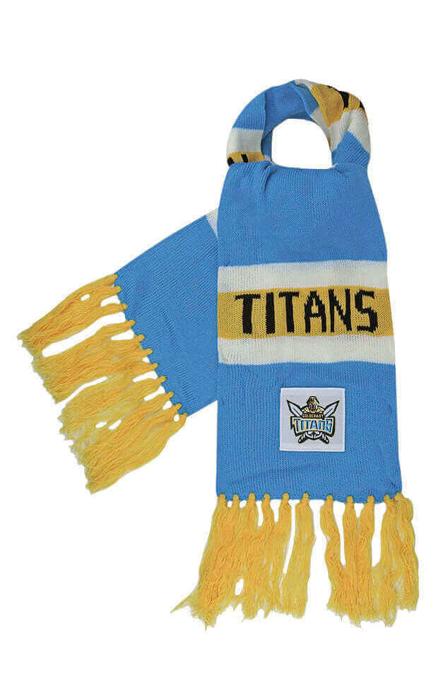 NRL GOLD COAST TITANS BAR SCARF