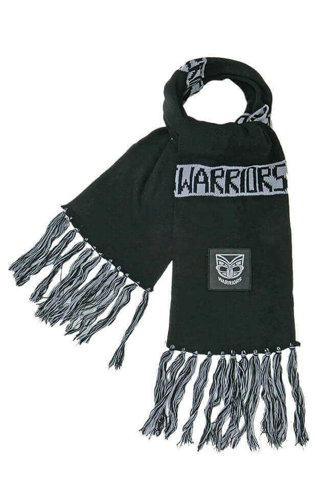 NRL NEW ZEALAND WARRIORS BAR SCARF