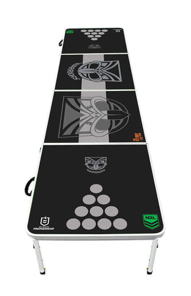 NRL New Zealand Warriors Beer Pong Table - PRE ORDERS