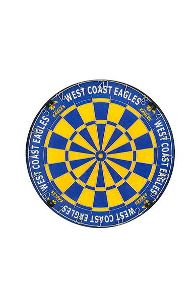 AFL West Coast Eagles Dartboard