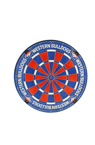 AFL Western Bulldogs Dartboard
