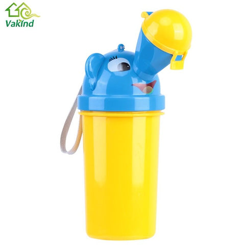 Cute Baby Girl Boys Portable Urinal Travel Car Toilet for Kids Children Vehicular Potty Travel Outdoor Supplies