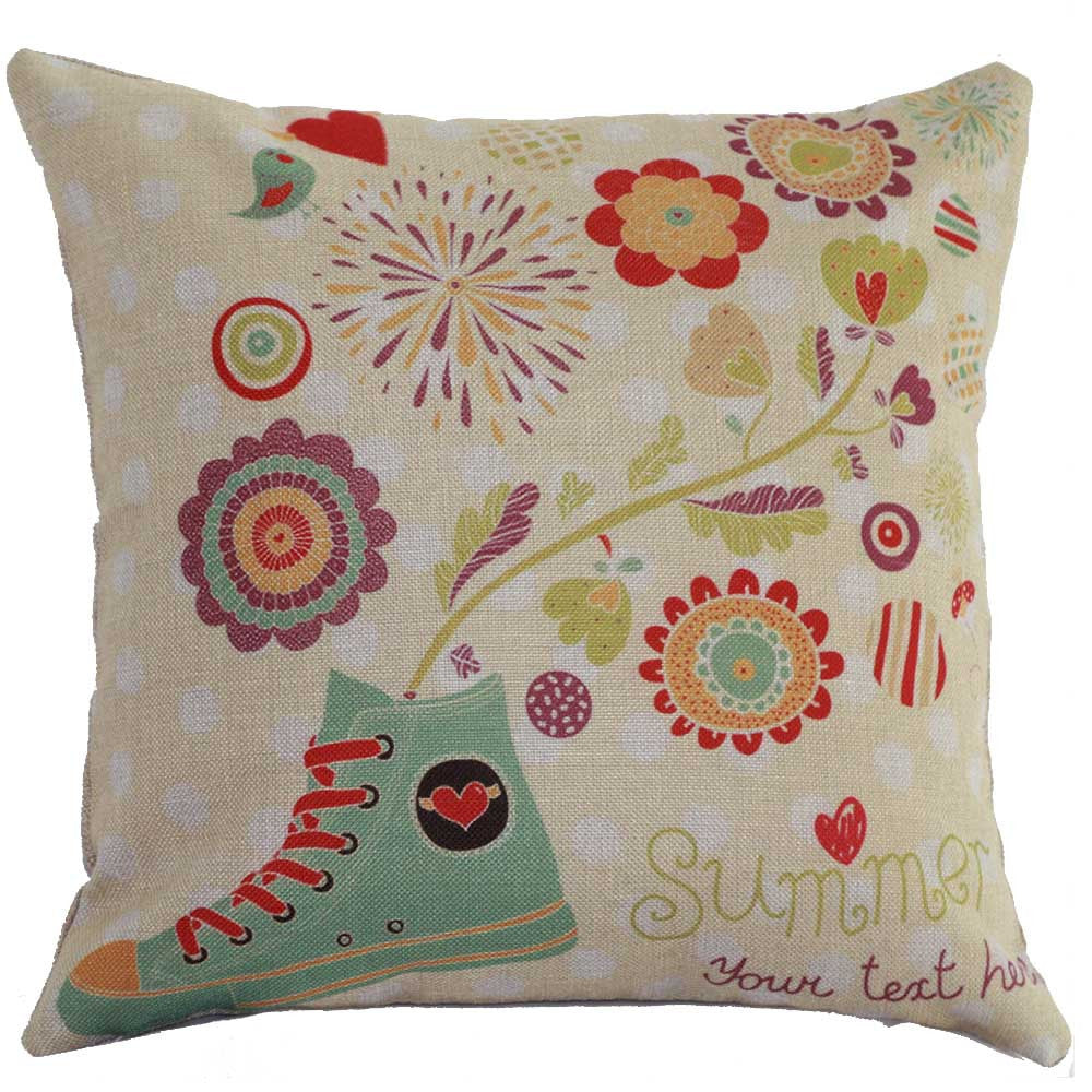Summer Holiday cushion covers decorative pillows home decor