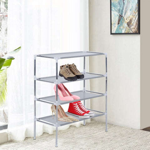 3 4 5 Layer Multifunctional DIY Non-Woven Fabric Shoes Rack Shoes Organizer Large Capacity Home Bedroom Shoe Racks Shelf Cabinet