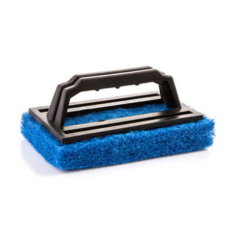 2pcs Useful Cleaning Brushes Ceramic tile Cleaner Floor Wiper Sponge Kitchen strong Useful Surface Brush Blue Green Red
