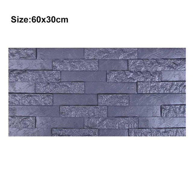 3D Wall Sticker PE Foam Brick Wallpaper for Kids Bedroom Decoration DIY Self-adhesive Art Stickers Home Decoration