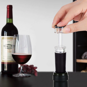 Fresh Wine - Air Pump Cork to Keep Wine Tasting Like the Day it was Opened - evvy-art