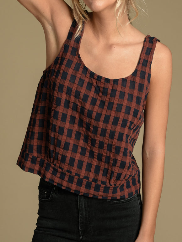 Karen Gingham Top