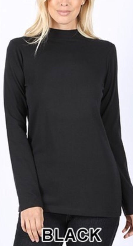 Celia mock neck