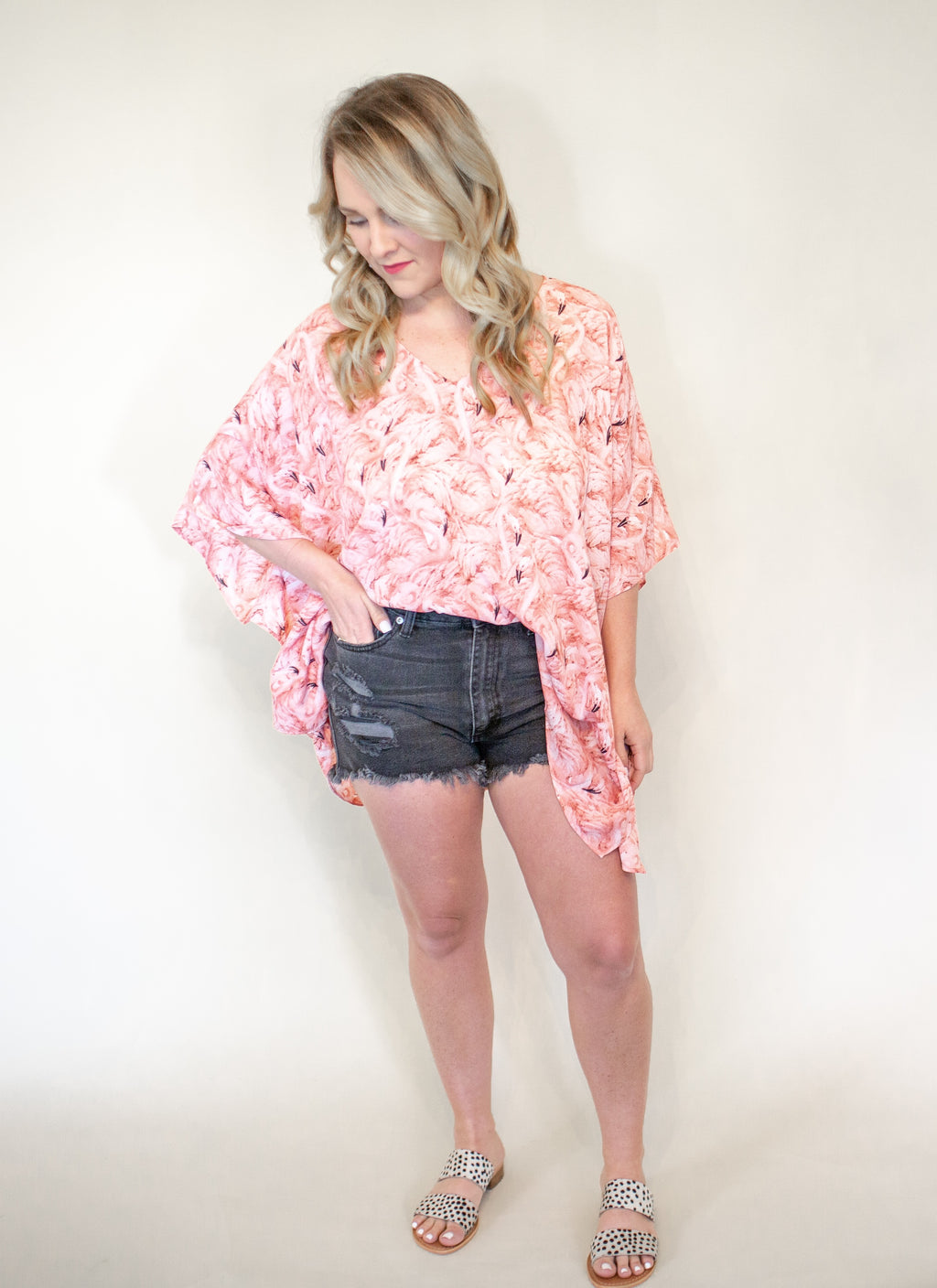 North Flamingo Tunic