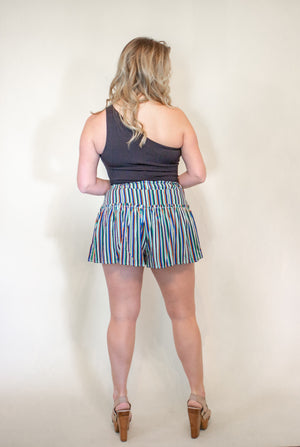 Candy Striped Short