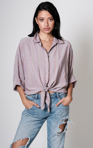 Kathreen front knot Top