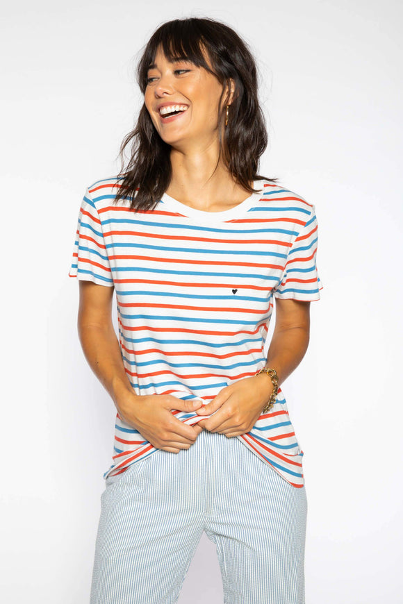 Vincent Stripe Loose Tee