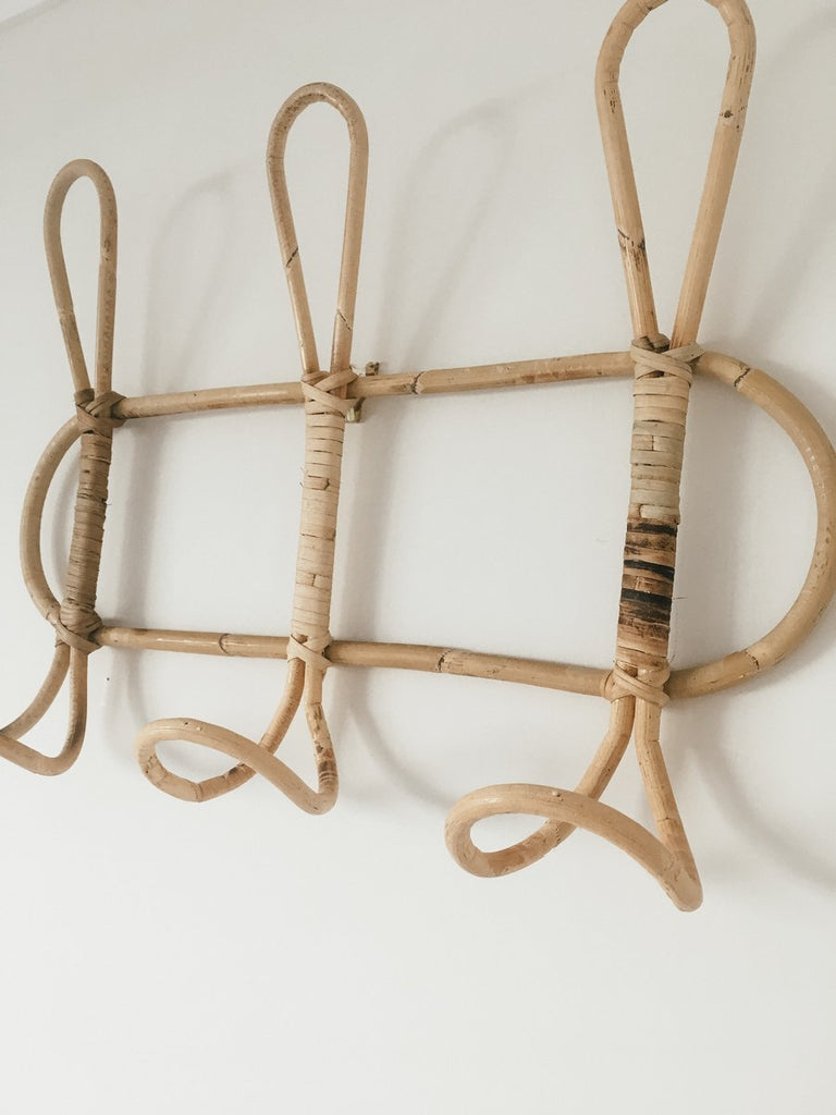 Rattan Coat Hook - Wonder and Luck