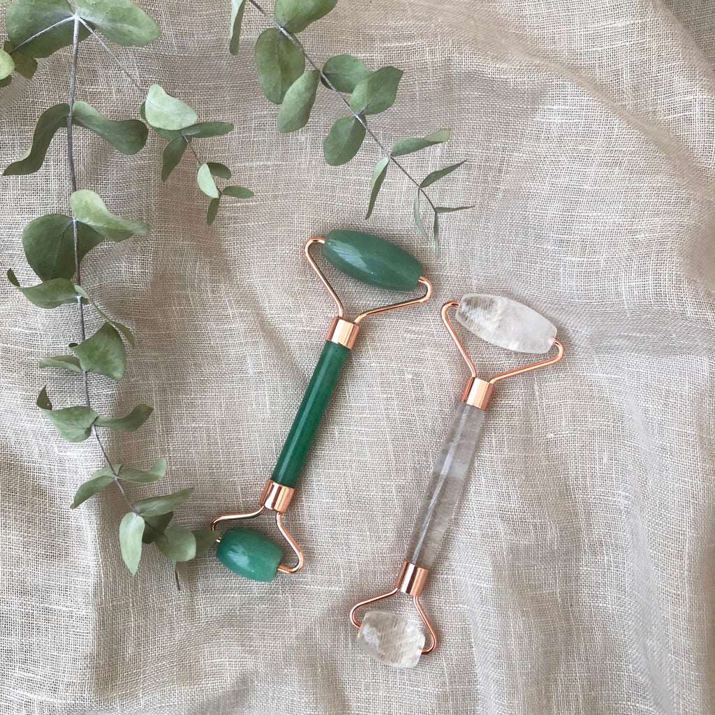 Crystal Face Roller - Adventurine - Wonder and Luck