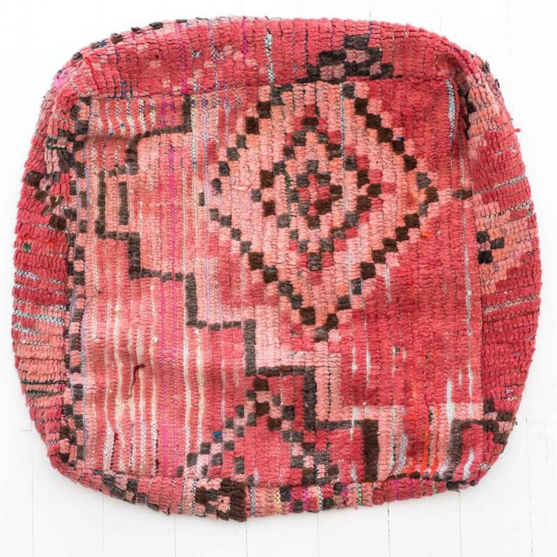 Moroccan Floor Cushion - Wonder and Luck