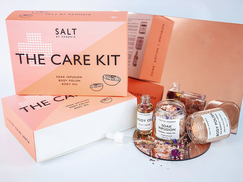The Care Kit - Salt By Hendrix gift pack - Wonder and Luck
