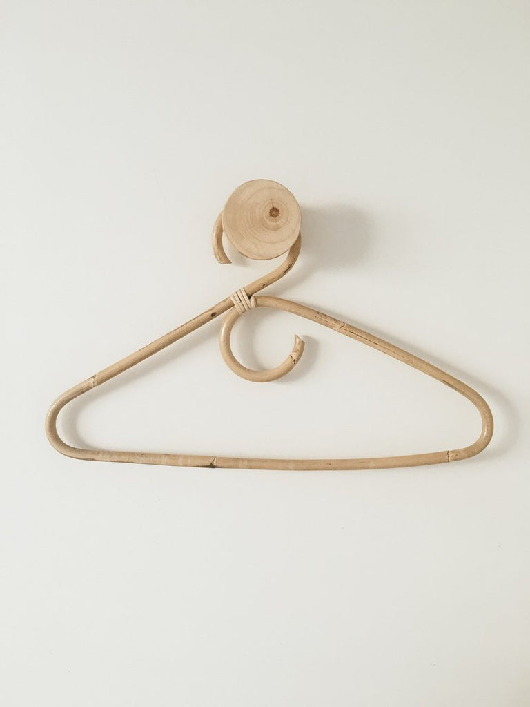 Rattan Clothes Hanger (3 pack) - Wonder and Luck