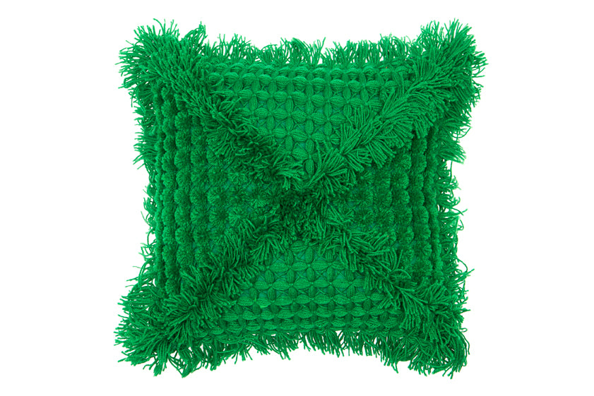 Vovo cushion Square - Emerald - Wonder and Luck