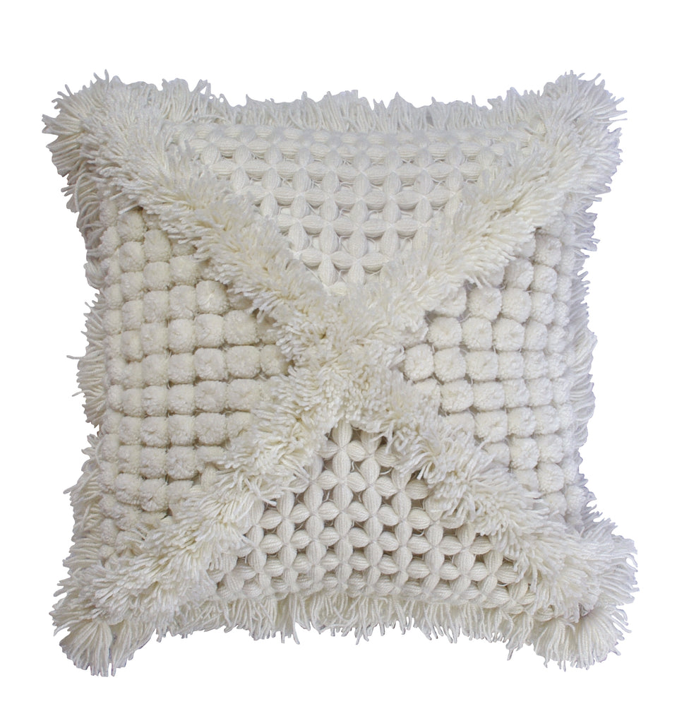 Vovo cushion Square - Cream - Wonder and Luck